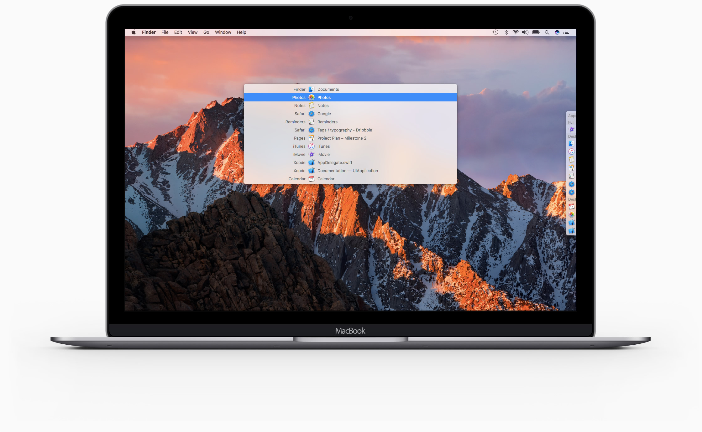 Contexts - Radically simpler & faster window switcher for Mac